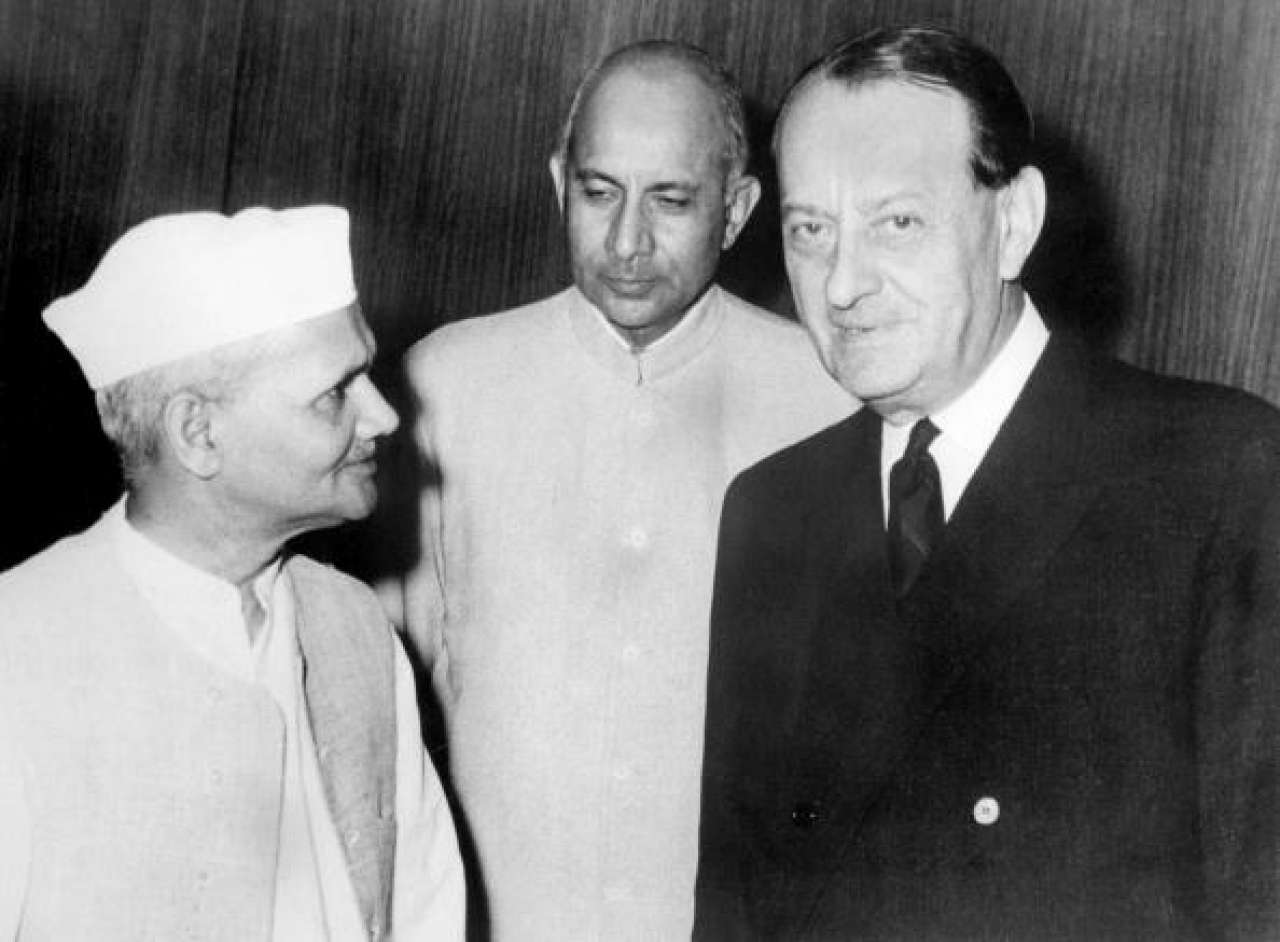 India's prime minister Lal Bahadur Shastri (AFP/Getty Images)
