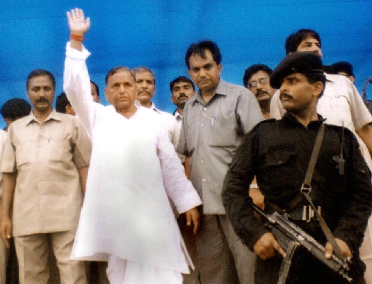Mulayam Singh Yadav (AFP/AFP/Getty Images)