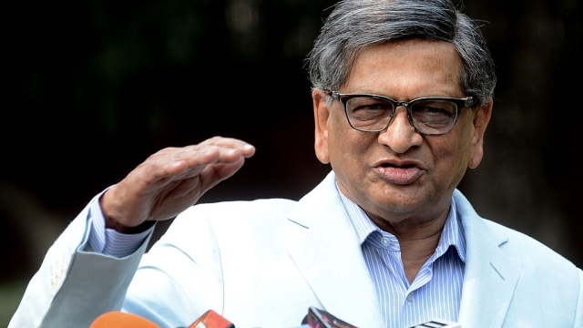 Former Congress Leader S M Krishna To Join The BJP Soon, Says Yeddyurappa
