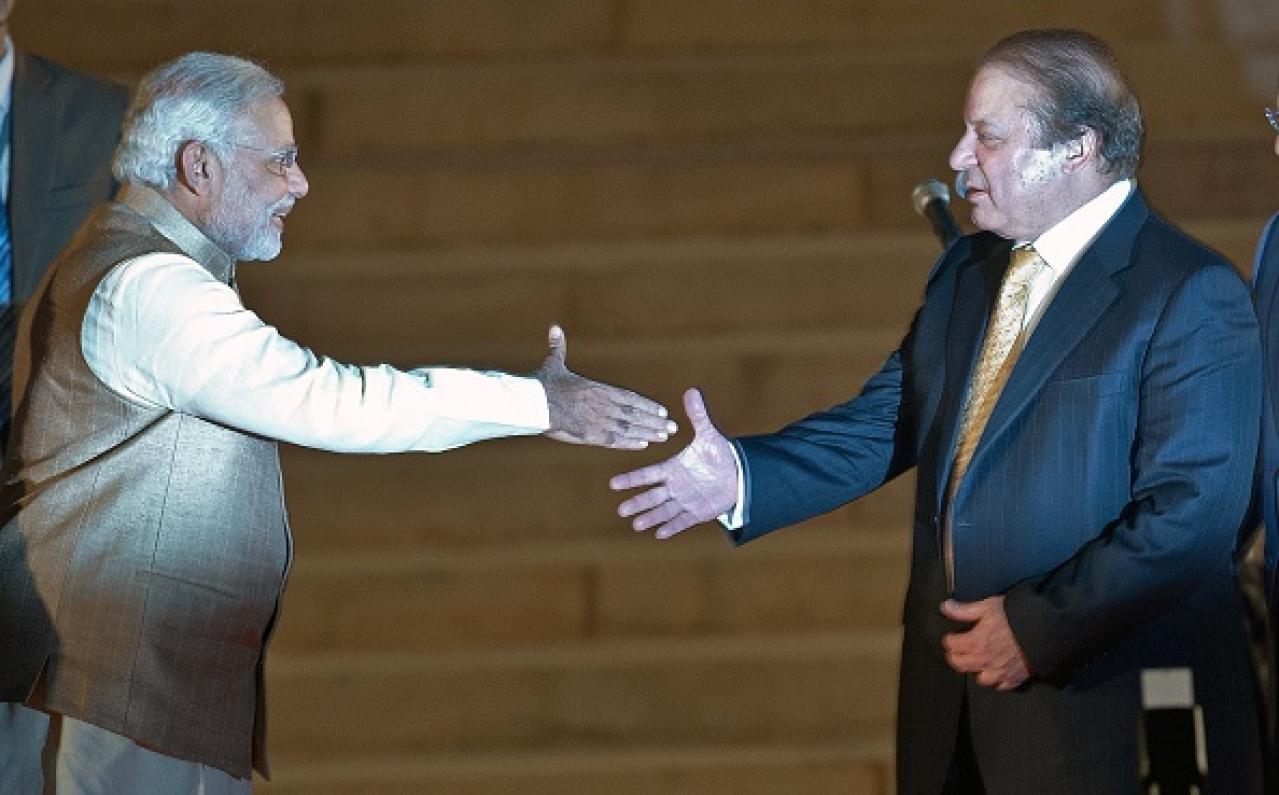 Prime Minister Narendra Modi and Pakistan Prime Minister Nawaz Sharif