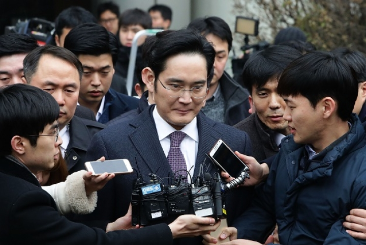 Chaebol Scion                  Jay Y. Lee, Samsung Chief Arrested As Corruption Scandal Rocks South Korea