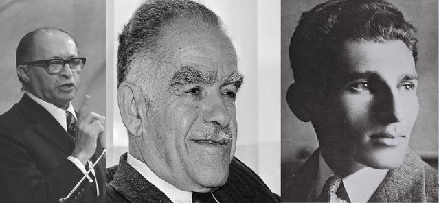 Menachem Begin, Yitzhak Yezernitsky and Avraham Stern