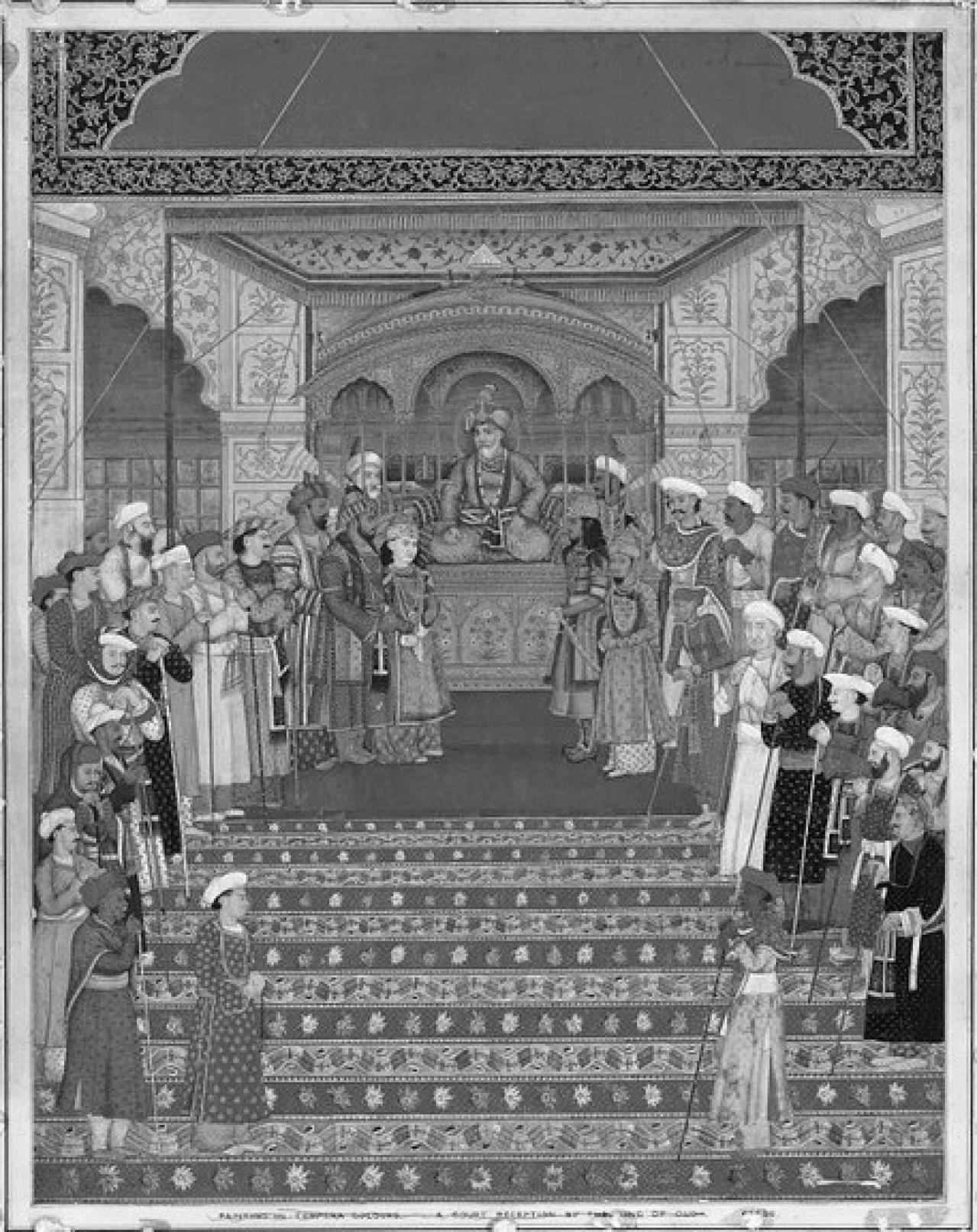 Akbar II in Court