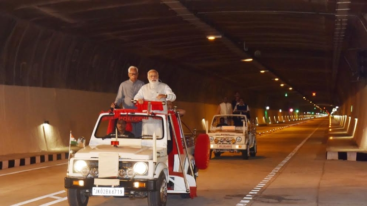Chenani-Nashri Tunnel: No Need To Move Mountains, Just Go Through Them Now