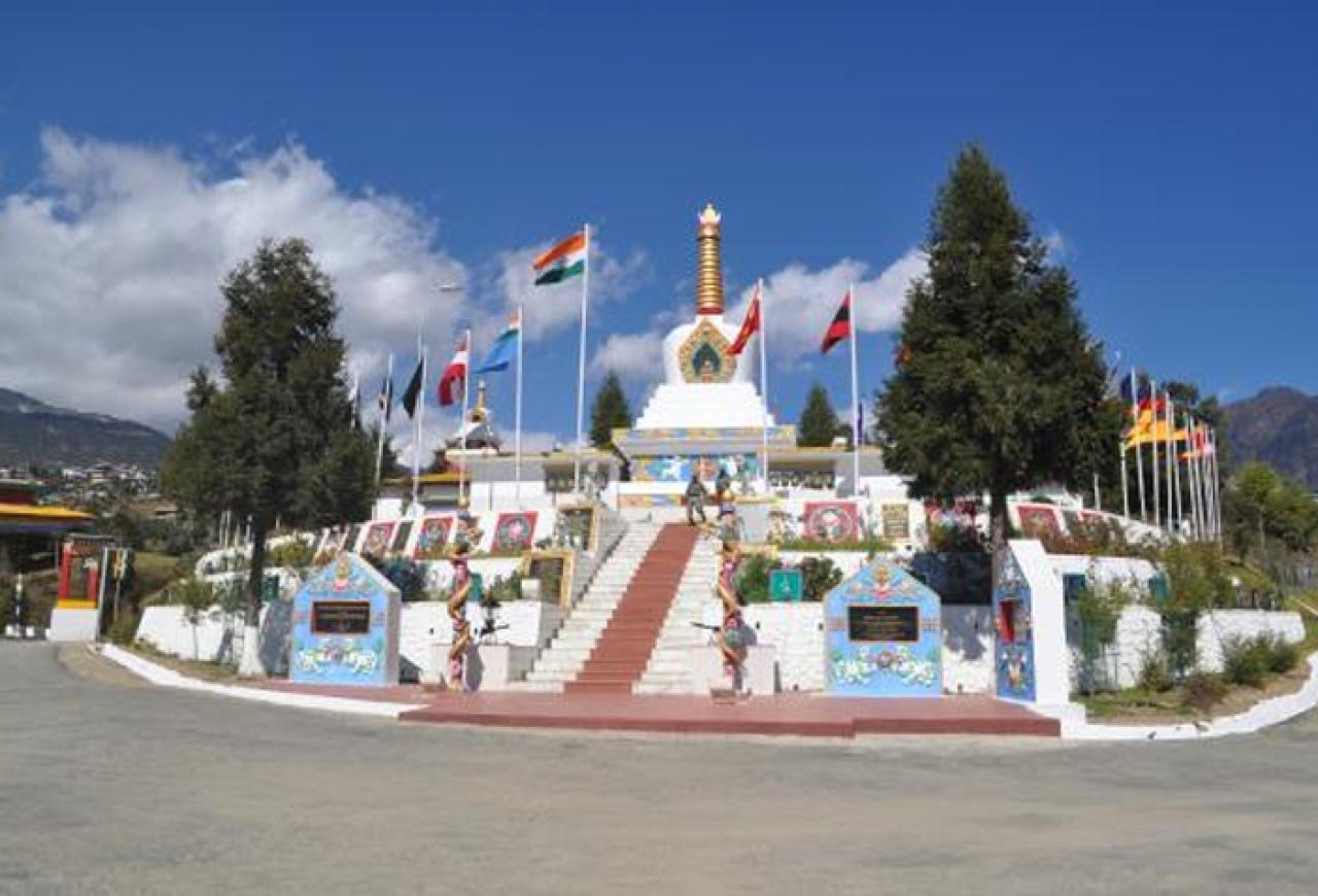 Indian Army Memorial at Tawang, Arunachal Pradesh