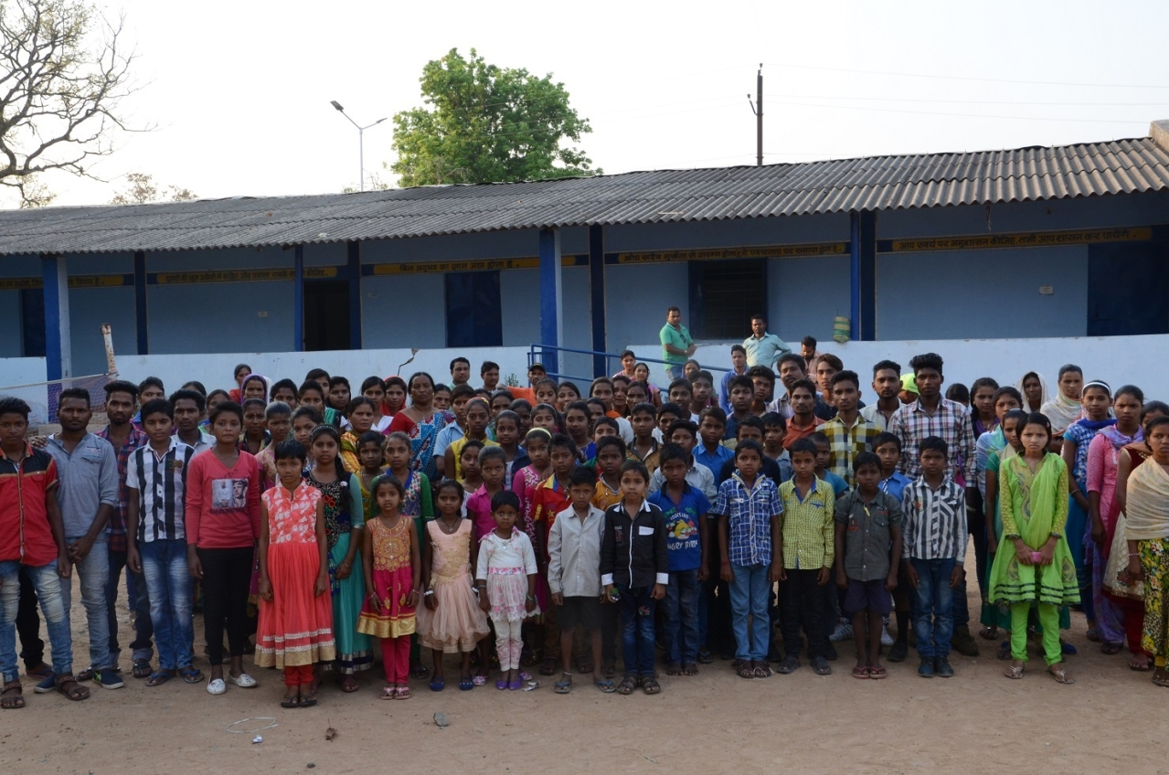 Children orphaned by Maoists. The kids stay at a residential school in Bijapur now