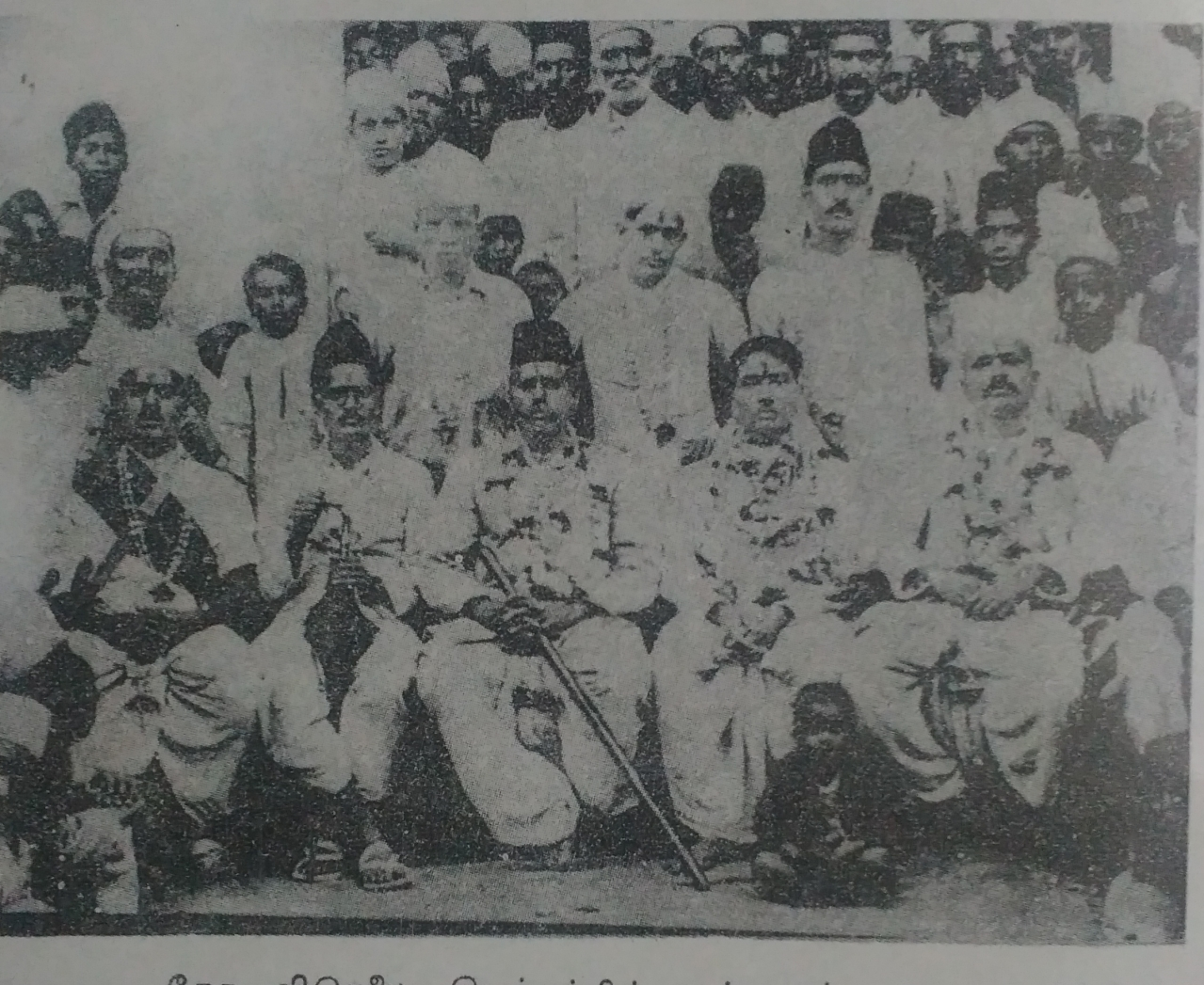 Dr Hedgewar participating in the 1930 satyagraha against the British