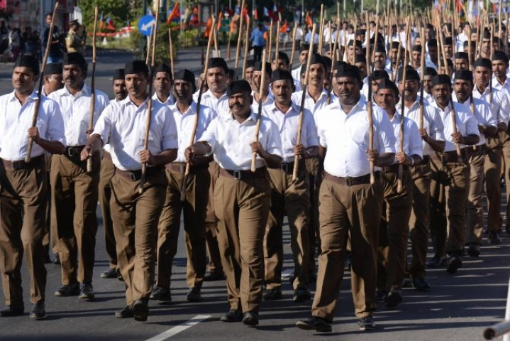 The RSS Added 250 Shakhas In West Bengal Over The Last One Year