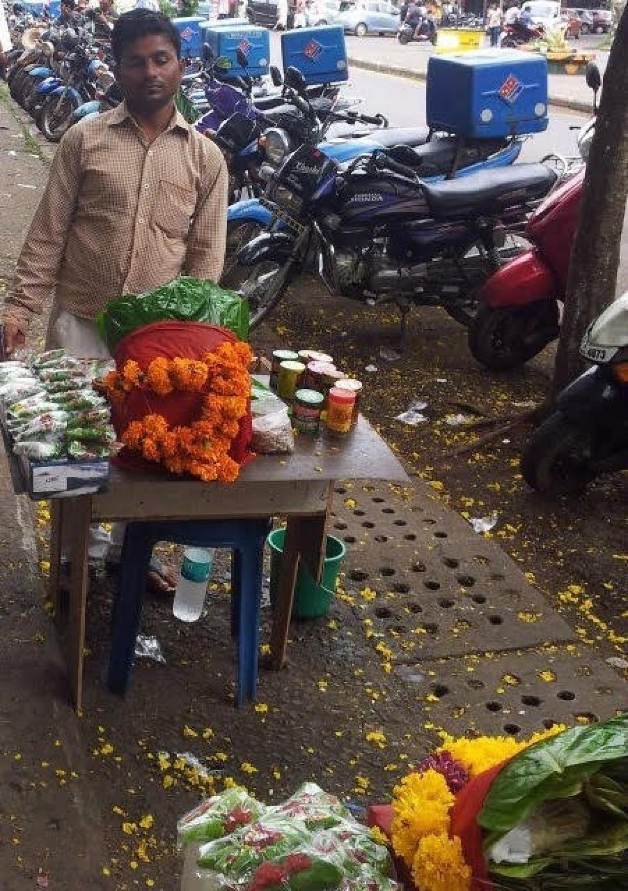 A paanwadi in Pune, Maharashtra.