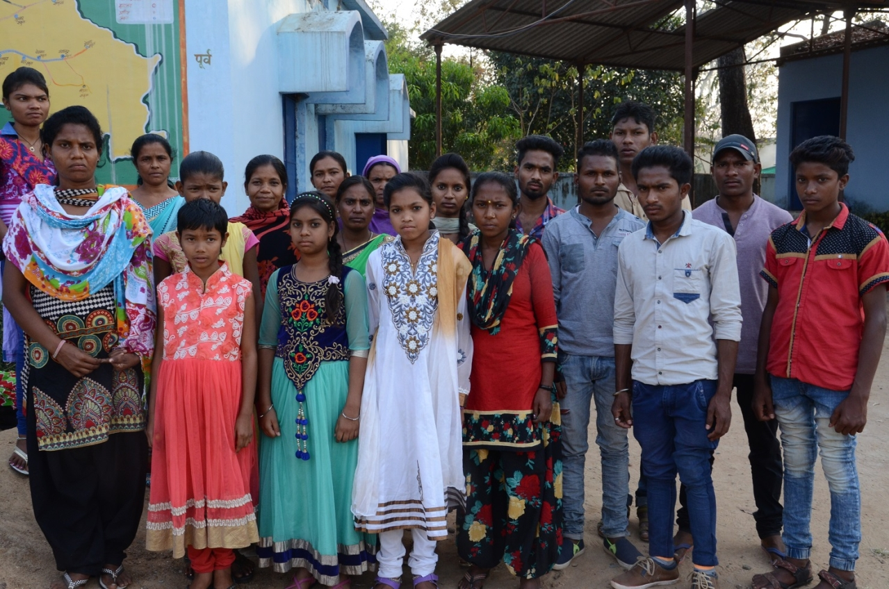 Victims of Maoist violence at Bijapur's Shantinagar
