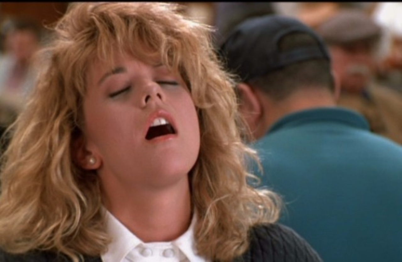 The iconic restaurant scene with Meg Ryan from <i>When Harry Met Sally</i>