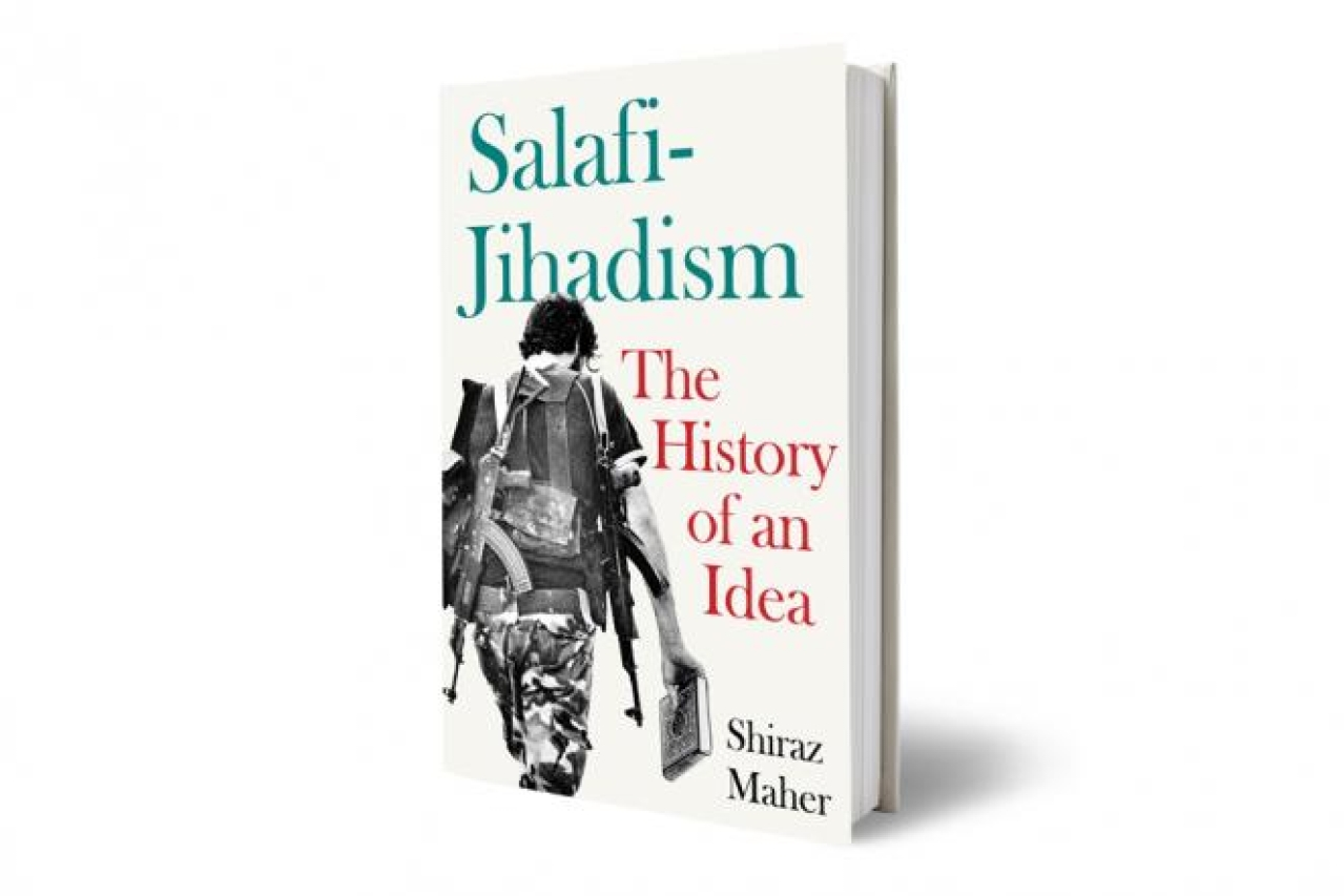 The cover of Shiraz Maher's book Salafi-Jihadism: The History of an Idea