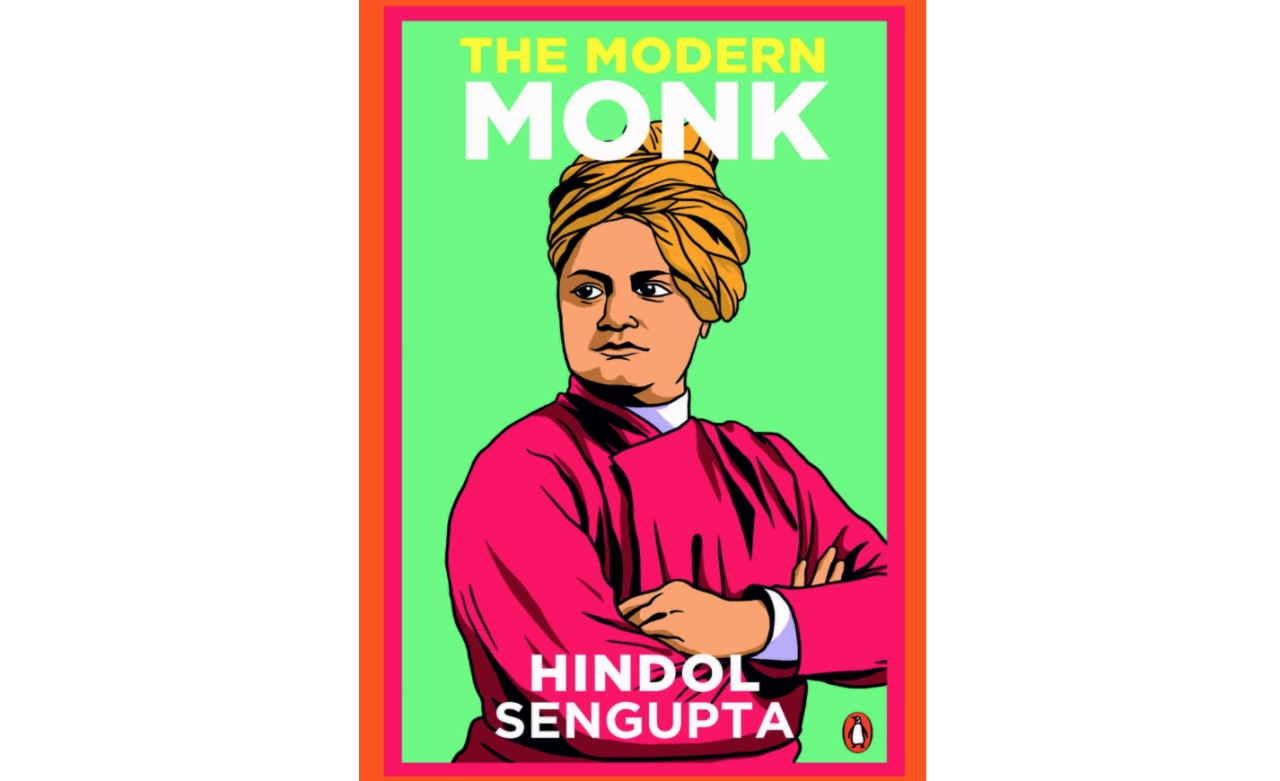 Book Cover of The Modern Monk By Hindol Sengupta
