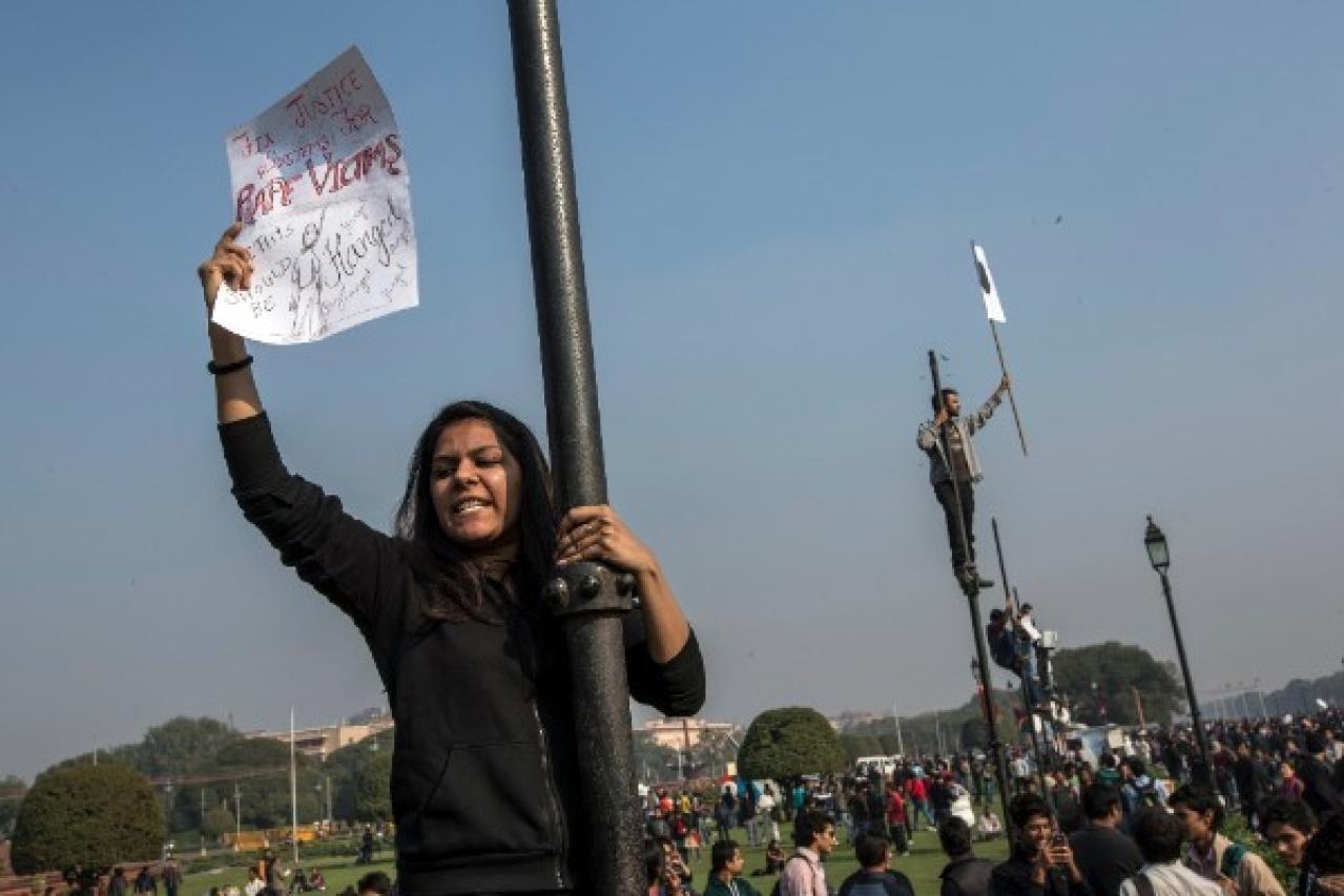 Indians protest against rape laws (Daniel Berehulak/Getty Images)