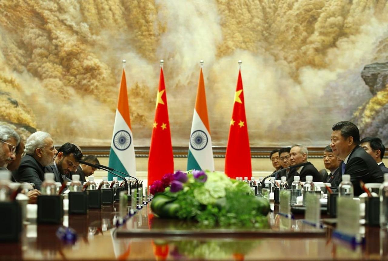 Narendra Modi and Xi Jingping