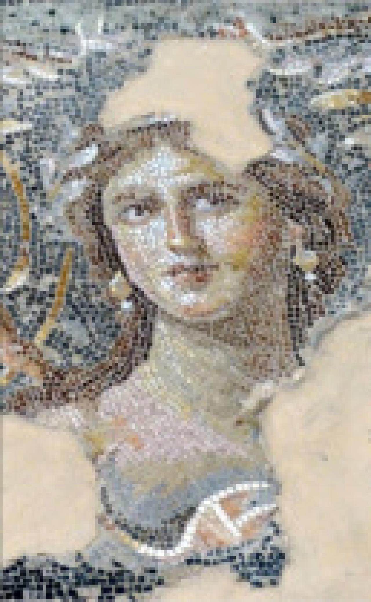 Mona Lisa of the Galilee at Zippori