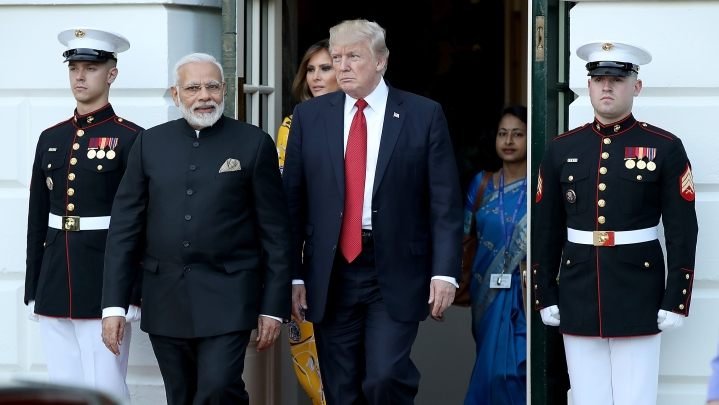 Trump Pitches For A  Natural Gas Agreement With India; Well, It Already Exists