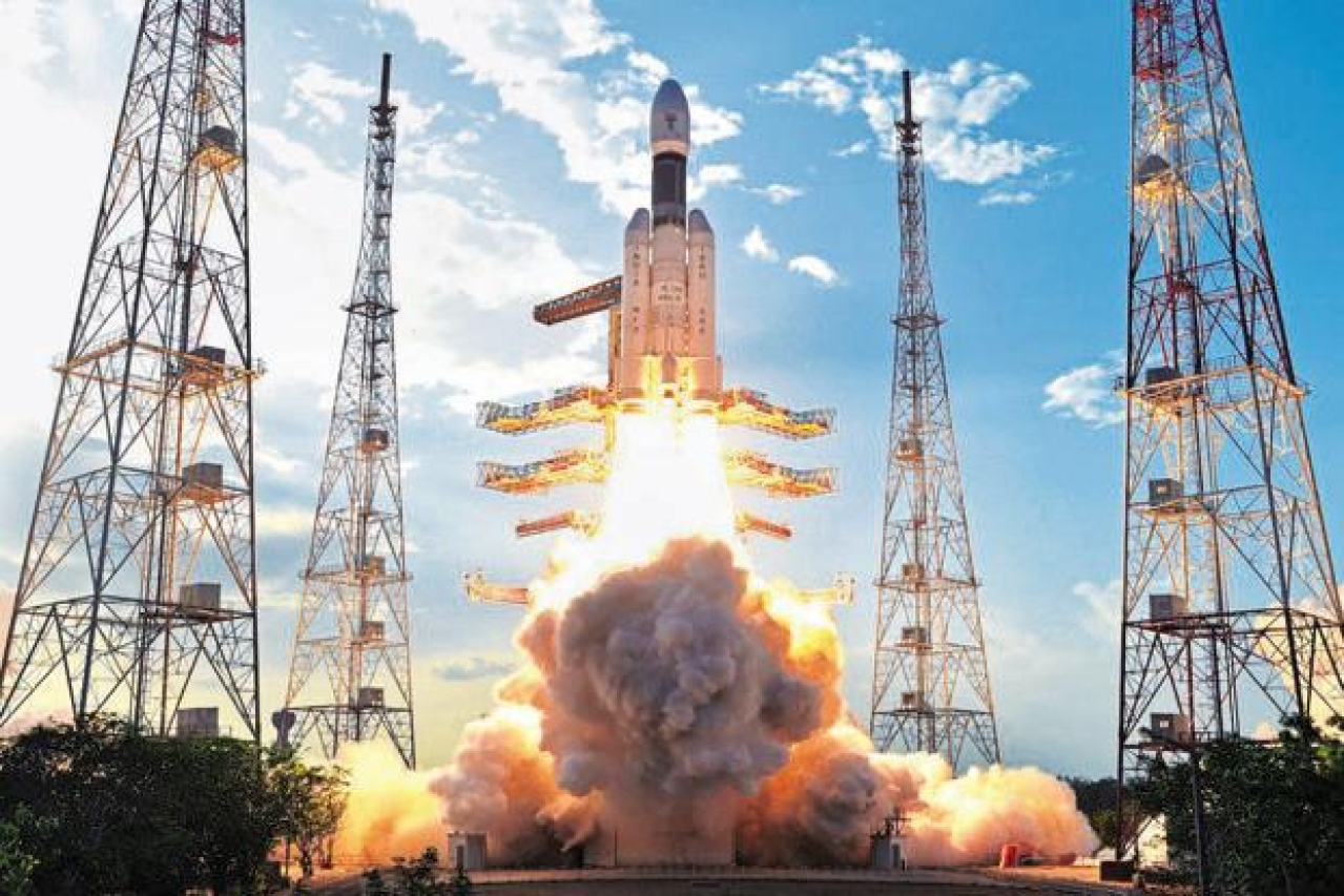 India launched its heaviest and most powerful rocket, GSLV Mark III, developed entirely at home, on 5 June. (PTI)
