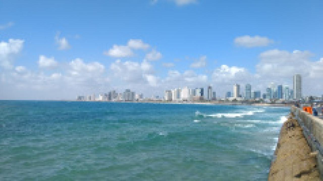 A view of modern Tel Aviv