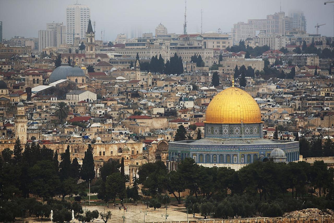Jerusalem skyline (Spencer Platt/Getty Images)