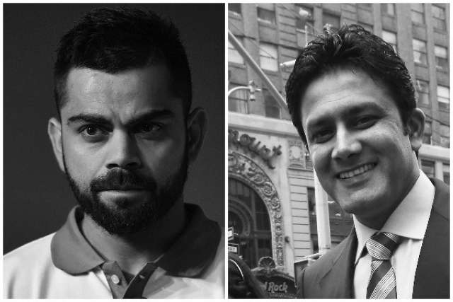 Kumble Is My Most Favourite Cricketer Ever But  I Am  Backing Kohli This Time