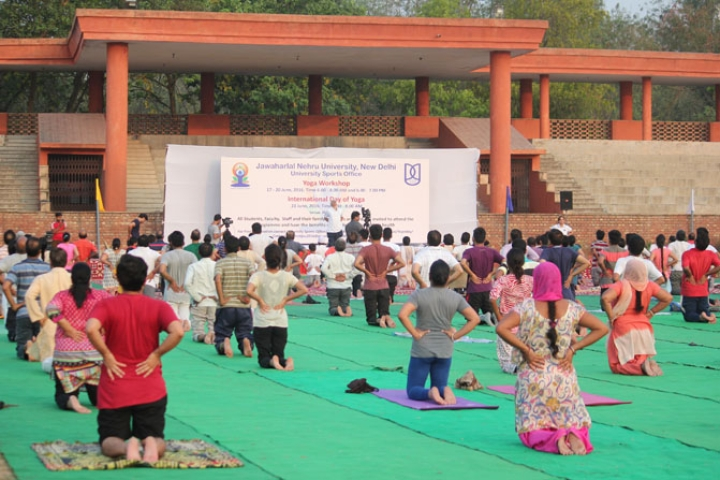 After Much Ado, Yoga Makes It To JNU