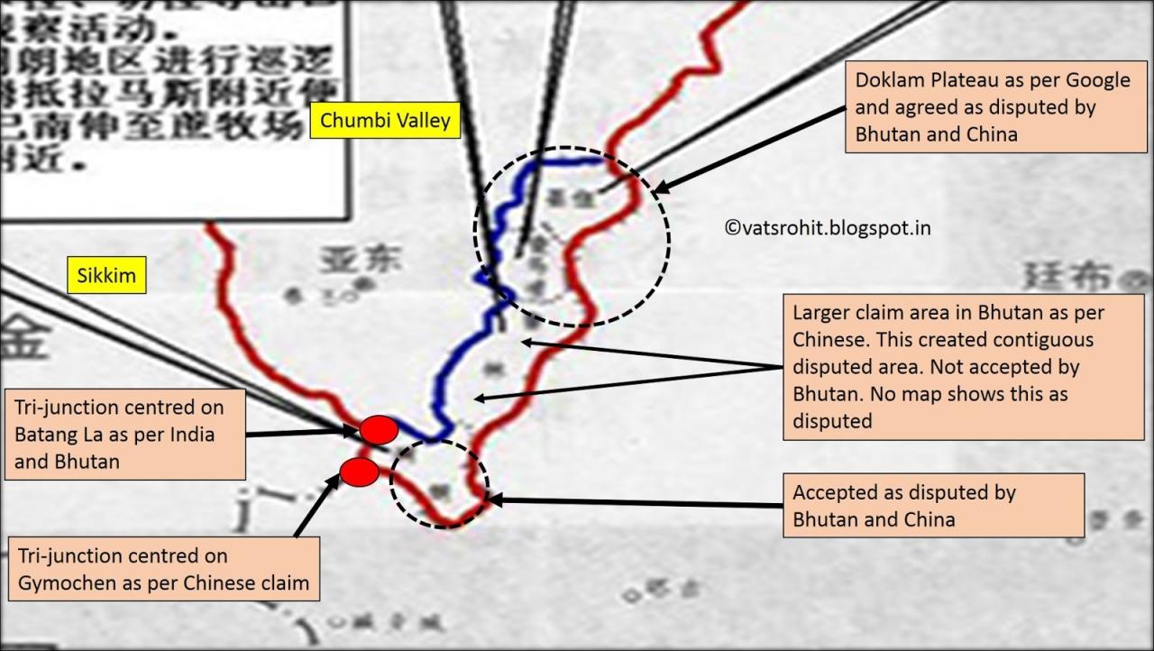 Chinese claim line