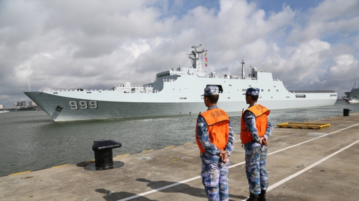 With Eyes On Indian Ocean, China Sends Troops To First Overseas Military Base In Djibouti