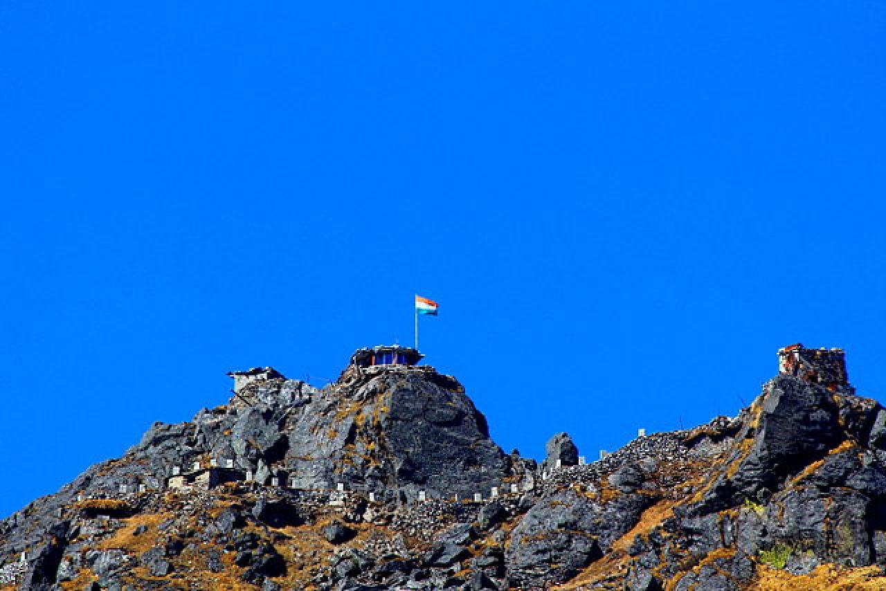 Nathu La, Gangtok, Sikkim (Vinay.vaars/Wikimedia Commons)