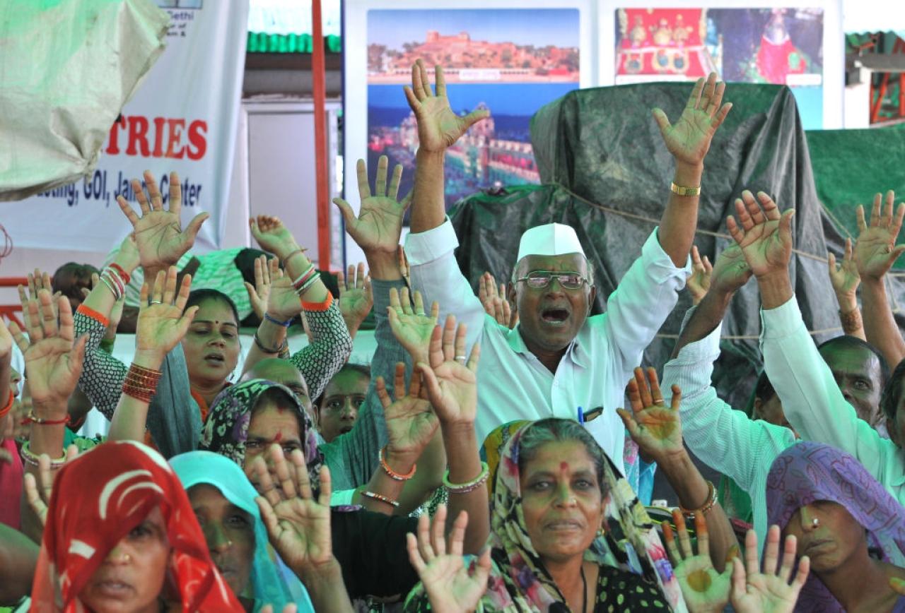 Pilgrims on Amarnath Yatra(Nitin Kanotra/Hindustan Times via Getty Images)