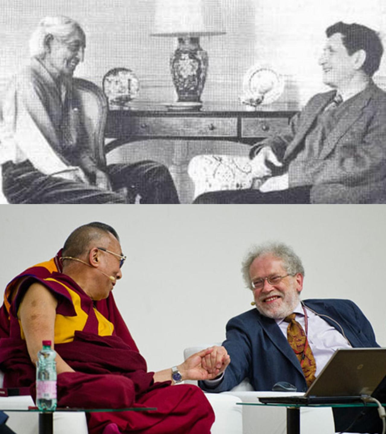 Bohm-Krishnamurti (top) and Lama-Zeilinger (bottom)