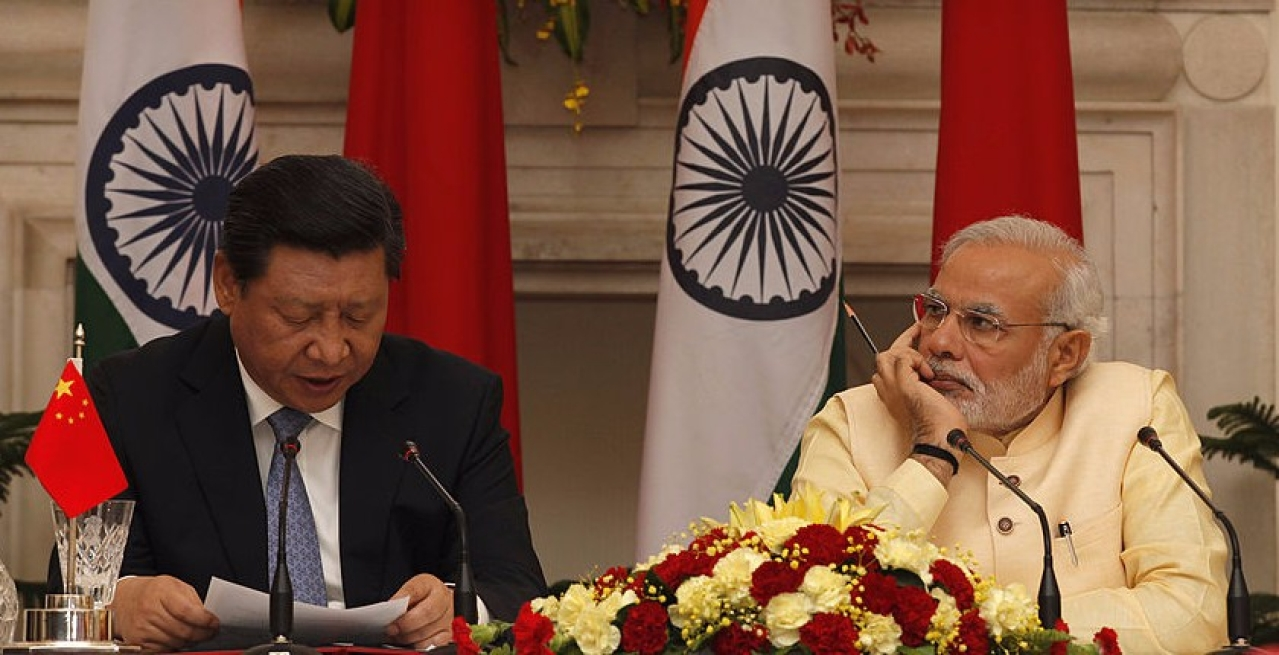Xi Jingping and Narendra Modi (Arvind Yadav/Hindustan Times via Getty Images)