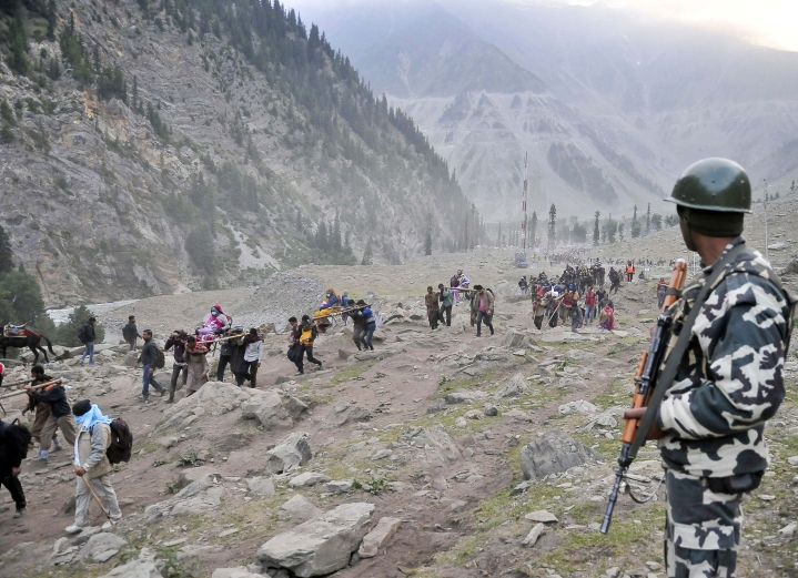 NGT Bans Chanting Mantras And Ringing Bells During Amarnath Yatra, Says Might Lead To Avalanches