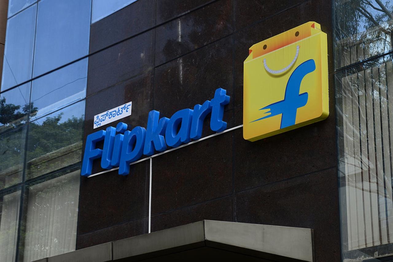 The Flipkart office in Bengaluru, India. (Hemant Mishra/Mint via GettyImages)