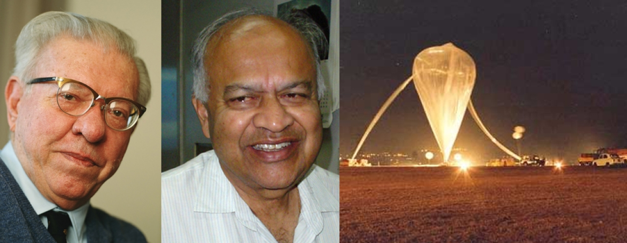 Sir Fred Hoyle, J V Narlikar and ISRO balloon experiment to test space-dust based /cometary panspermia hypothesis.
