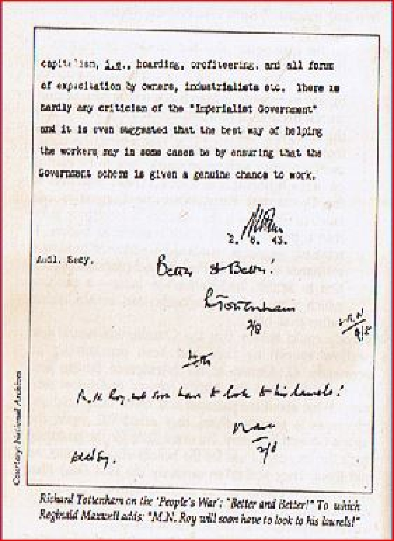 People's War's distorted writing (Courtesy Arun Shourie)