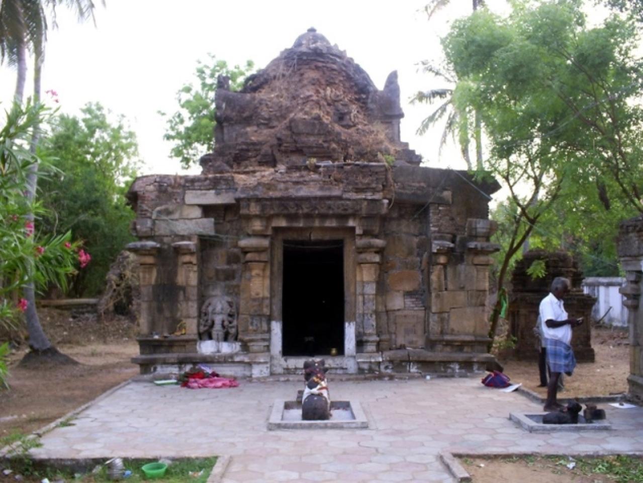Temple before demolition: Photo courtesy: REACH foundation