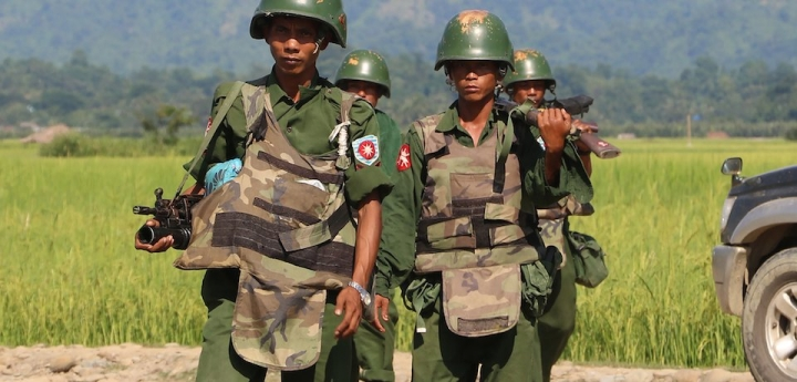 Fresh Violence In Myanmar: 96 Killed, Including Six Hindu Civilians By Rohingya Extremists