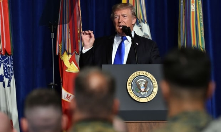 Trump Says US Troops Will Remain In Afghanistan, Hits Out At Pakistan For Harbouring Terrorists