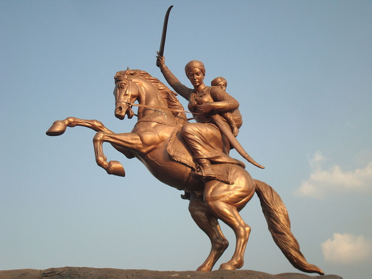 Rani Lakshmibai. (Wikimedia Commons)