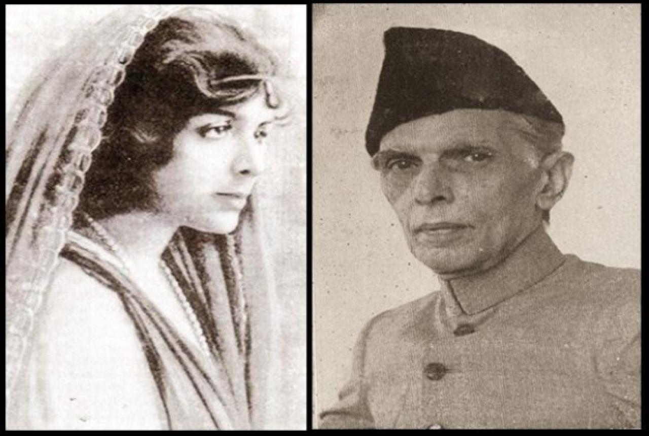 Mrs and Mr Jinnah