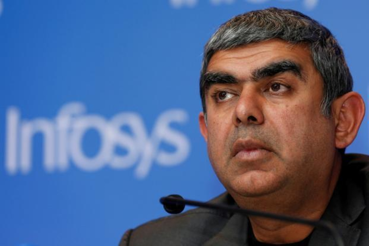 Infosys CEO Vishal Sikka and co-chairman Ravi Venkatesan had a tough working relationship on the board. (Reuters)