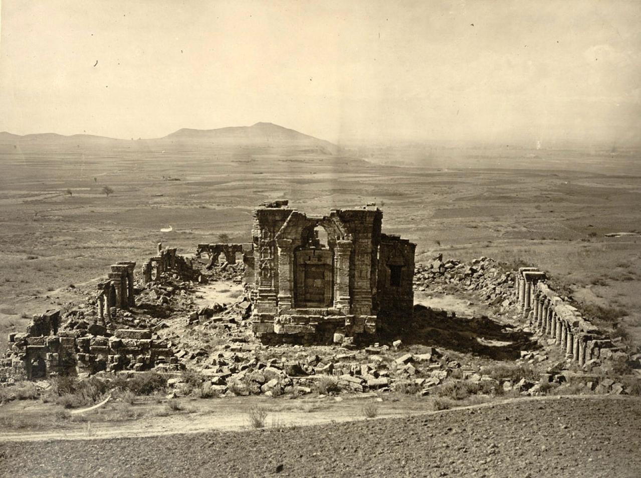 Sun Temple In Martand, Kashmir
