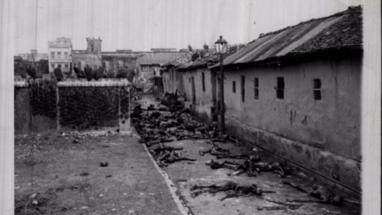 Victims of the Calcutta riots of 1946