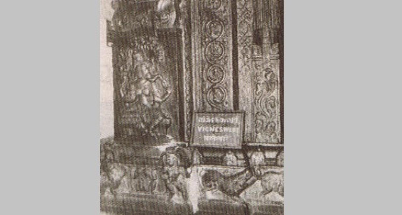 Vigneswari: Suchindrum Temple Pillar sculpture