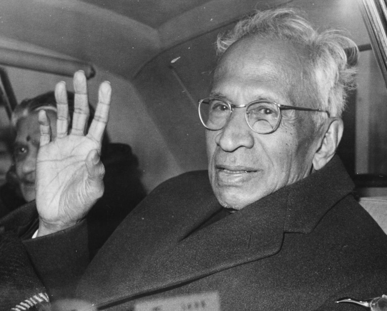 Dr Sarvepalli Radhakrishnan in London in 1965 (J. Wilds/Keystone/Getty Images)