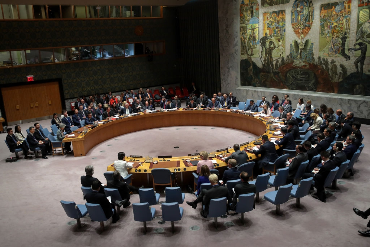 UN Security Council (Drew Angerer/Getty Images)