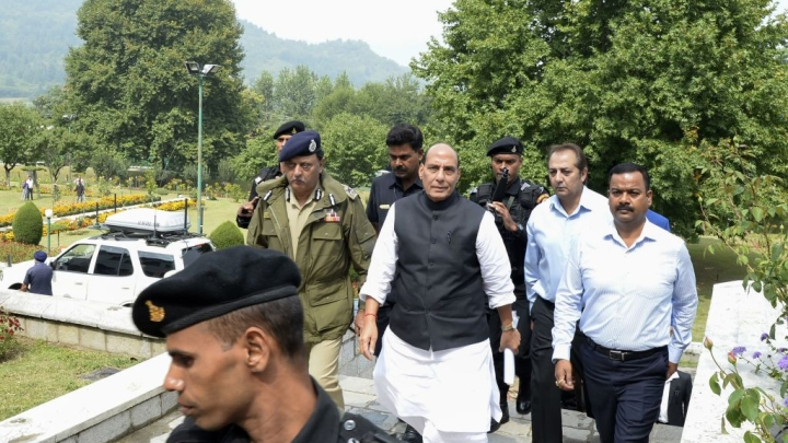 Jammu And Kashmir: Home Minister On A Reconnaissance Mission