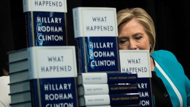 'What Happened'? Hillary Cherry-Picks Through Historic Loss