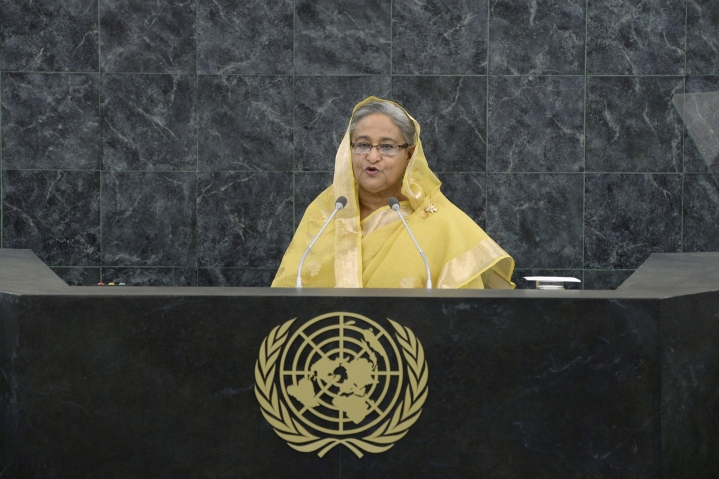 Sheikh Hasina Says Pakistan Military Started The Genocide Of 1971 In UNGA Address